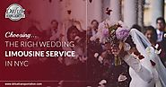 Choosing The Right Wedding Limousine Service In NYC