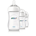 Philips Avent 9oz Natural Feeding Bottles - 3 pk
