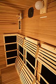 Stressed Out? Put Your Sweat to Work in a 3-Person Infrared Sauna and Enjoy a Stress-Free Life