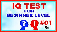 IQ Test Questions For Beginner Level Video #01