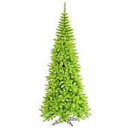 Finding And Decorating A Lime Green Christmas Tree