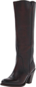 FRYE Women's Mustang Pull On Boot,Dark Brown,9 M US