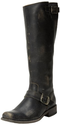 FRYE Women's Smith Engineer Tall Boot,Black,9 M US