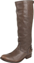 FRYE Women's Melissa Back Zip Knee-High Boot,Grey Antique Soft Full Grain,7.5 M US