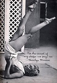 Marilyn Monroe did pilates! Right?