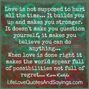 Love is Not Suppose to Hurt