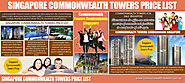 Singapore Commonwealth Towers Price List