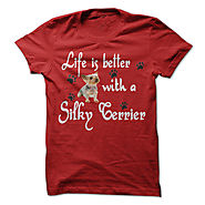 Life is better with a Silky Terrier