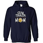 SILKY TERRIER mom love dog