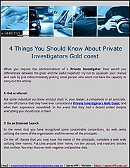 Find Private investigators GoldCoast