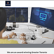 Hire Web Designers, Web Developers, App Makers & Digital Marketers Web Design Agency Toronto