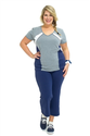 Plus Size Sportswear, Plus sized Performance Sports Tee