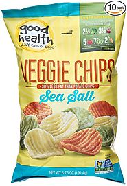 Good Health Veggie Chips Sea Salt