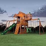 Leisure Time Products Skyfort II Cedar Swing Set/Play Set $1,199 @ Sam's Club