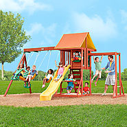 Big Backyard Cedarbrook Wood Gym Set $649.99 @ ToysRUs