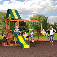 Backyard Discovery Weston Cedar Swing Set $435.99 @ Walmart