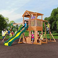 Leisure Time Products Thunder Ridge Cedar Swing Set/Play Set $899 @ Sam's Club