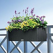Top 10 Best Self-Watering Railing Planter Reviews 2017 on Flipboard