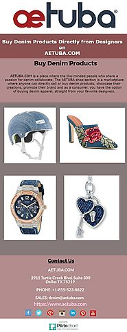 Buy Denim Products Directly from Designers on AETUBA.COM.