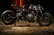 MK46 Cafe Racer By Motokraft Customs Is An Ode To Valentino Rossi