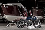 When Luxury Boats Inspire Bikes - BMW K100 Cafe Racer by VTR Customs