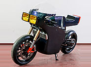 Midnight Runner Electric Cafe Racer by Apache Customs and Energica