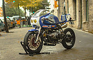 BMW R100R Made Into An Electrifying Cafe Racer | BMW Cafe Racer