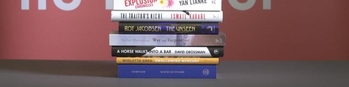 Headline for 13 Books Short Listed For The Man Booker International Prize 2017