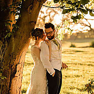 Bordesley Park Farm Wedding Reception for Jamie and Lizzie