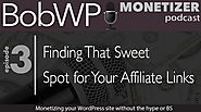 Finding That Sweet Spot for Your Affiliate Links