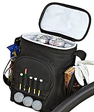 PrideSports Cooler Bag - Holds 12 Cans with Reusable Ice Pack