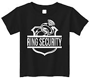 Threadrock Little Boys' Ring Security (Ring Bearer) Toddler T-Shirt