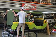 Ultimate Summer Camp Jeep Gets Pretty Paint & Powder