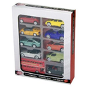 Tesco - 10 pack modern Cars - assortment may vary from image: Toys & Games
