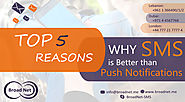 Top 5 Reasons Why SMS is Better than Push Notifications