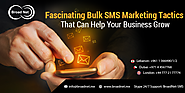 Fascinating Bulk SMS Marketing Tactics That Can Help Your Business Grow