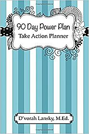90 Day Power Plan: Take Action Planner Paperback – December 30, 2016