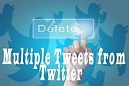 How To Delete Multiple Tweets From Twitter Account | TendToRead