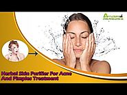 Herbal Skin Purifier For Acne And Pimples Treatment