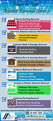 House & Roof Asbestos Removal Services