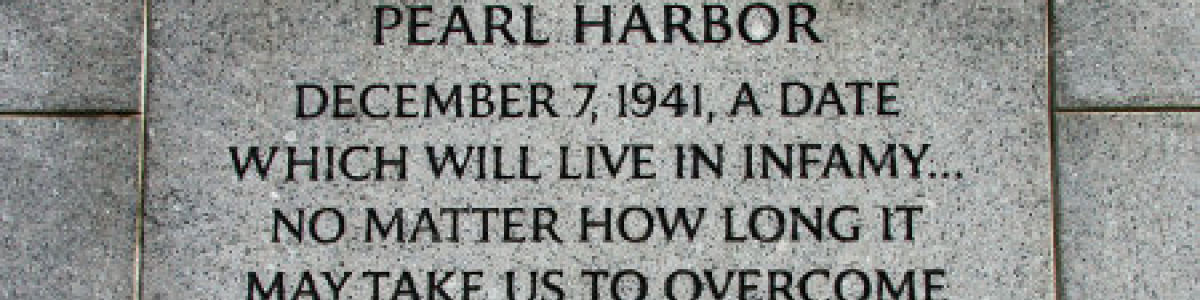 Headline for Attack on Pearl Harbor