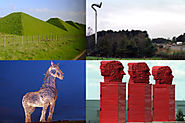 Scottish fact of the day: M8 motorway sculptures