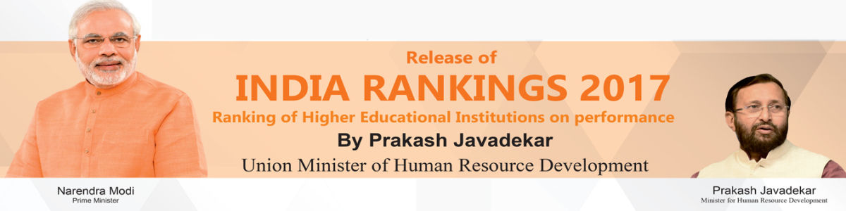 Headline for INDIA RANKINGS 2017 : Top 25 Universities of India 2017