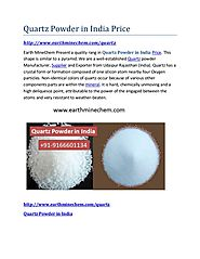 Quartz powder in india price