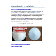 Quartz Powder in India Price Quartz Powder in India Price
