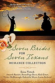 Seven Brides for Seven Texans Romance Collection: The Hart Brothers Must Marry or Lose Their Inheritance in 7 Histori...