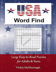 USA Word Find - an educational word search book