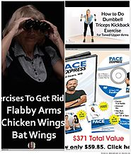 Exercises For Flabby Arms, Chicken Wings And Bat Wings