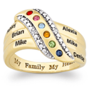 Inexpensive Mothers Rings
