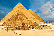 Pyramids of Giza , Egypt